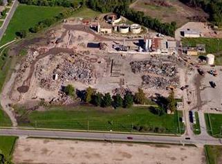 Delphi demolition site in Olathe, KS