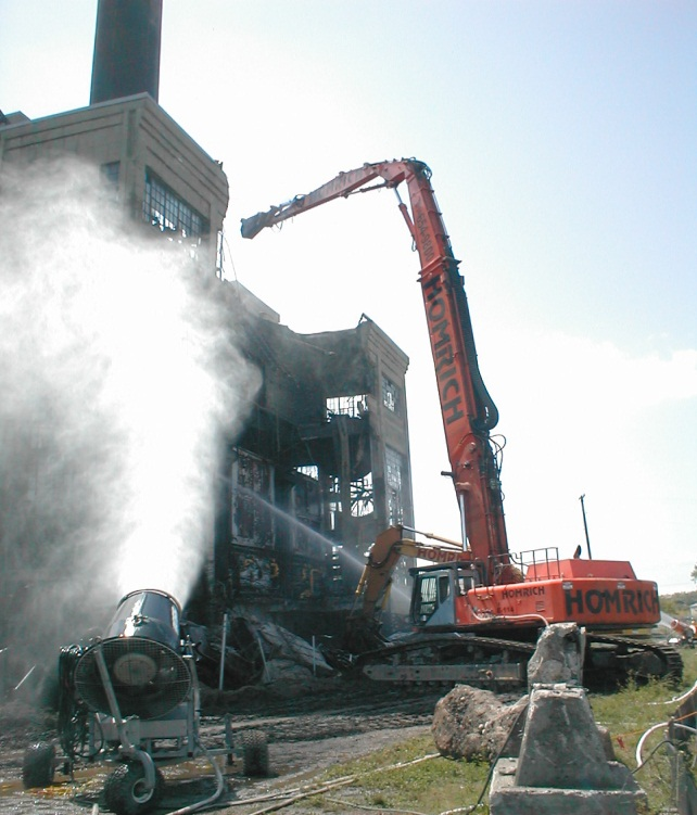 Performance Paper demolition