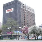 Statler Hilton demolition