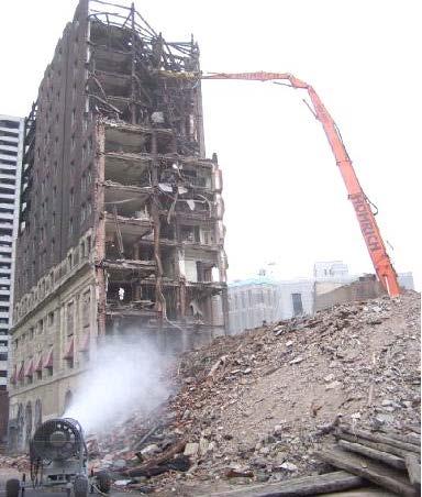 Statler Hilton demo in Detroit, MI