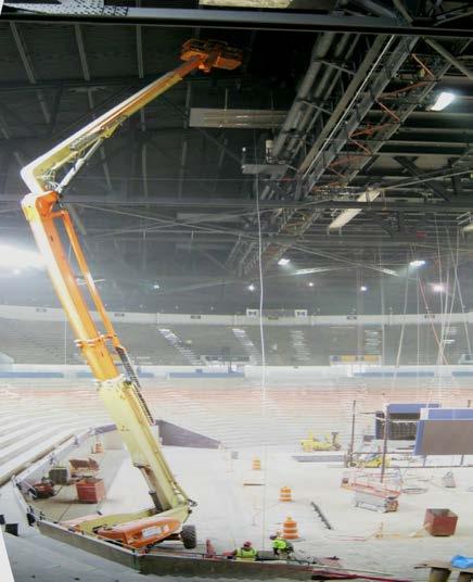U of M Crisler Arena demolition