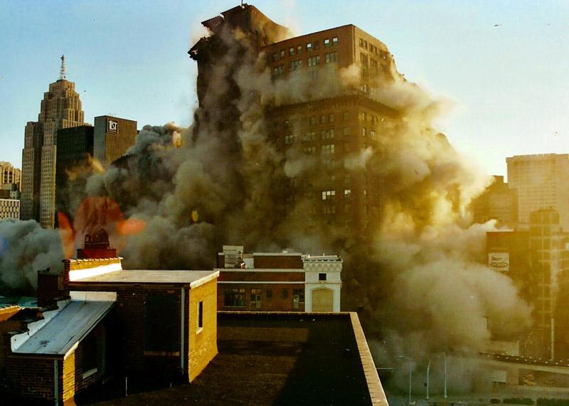 Hudson demolition